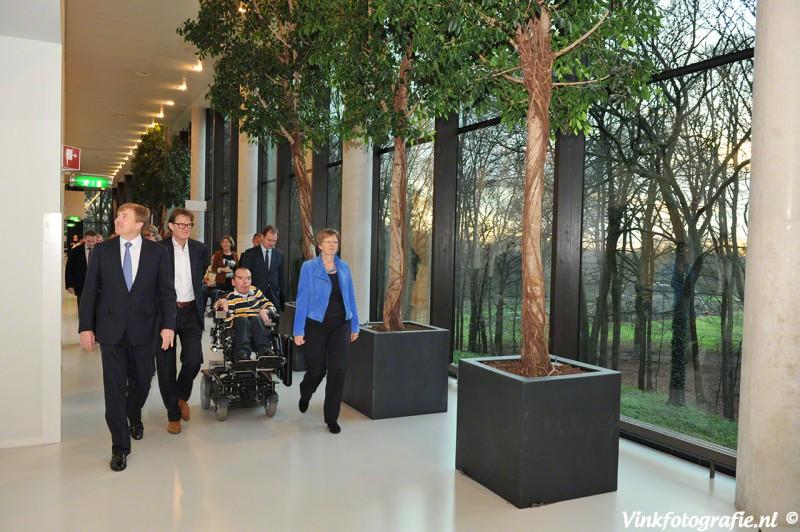 Bezoek Groot Klimmendaal Willem Alexander