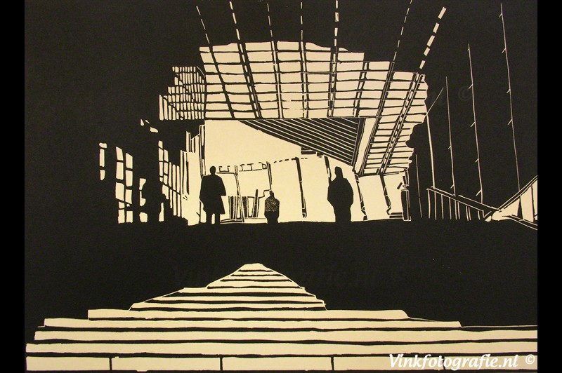 Lino-kunst-Bernard-Vink