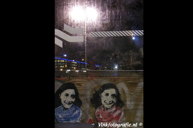 Moderne Anne Frank foto
