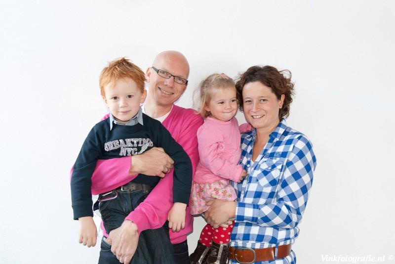 Familie studio portret fotograaf