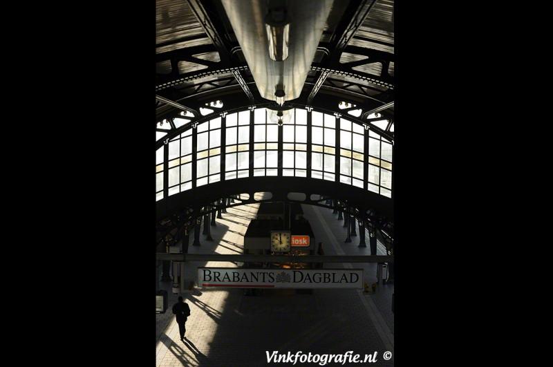 Brabants dagblad op het station
