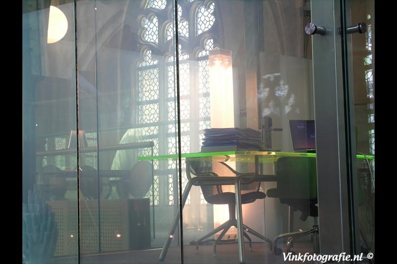 Kantoor in de kerk