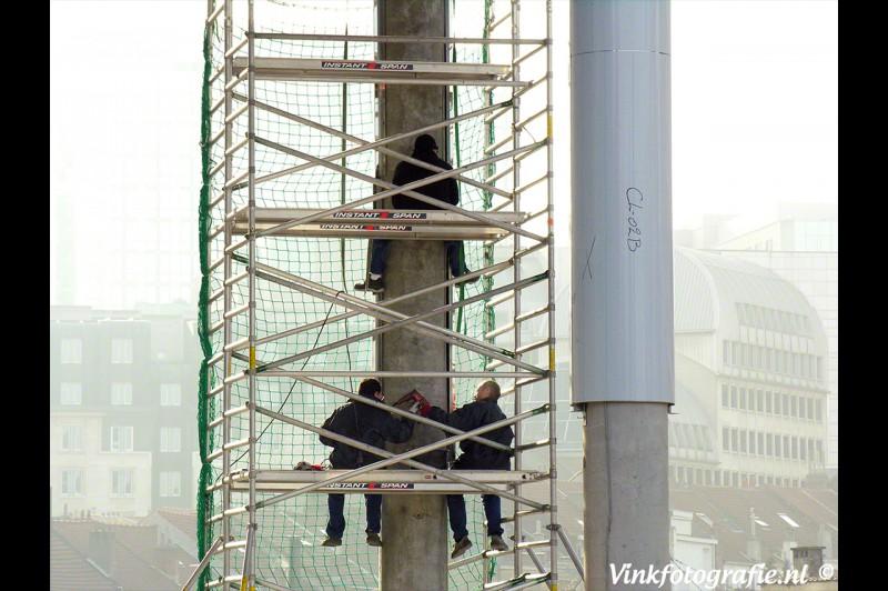 Wolkenkrabbers bouwers
