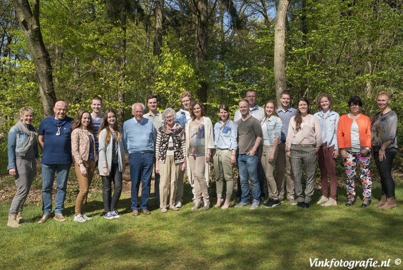 familie groeps fotograaf